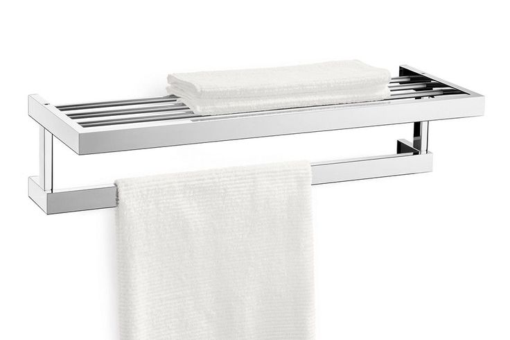 ZACK LINEA Handdoekrek, Spiegelglans, Wandmontage · Bathroom Accessories WellnessBath ...