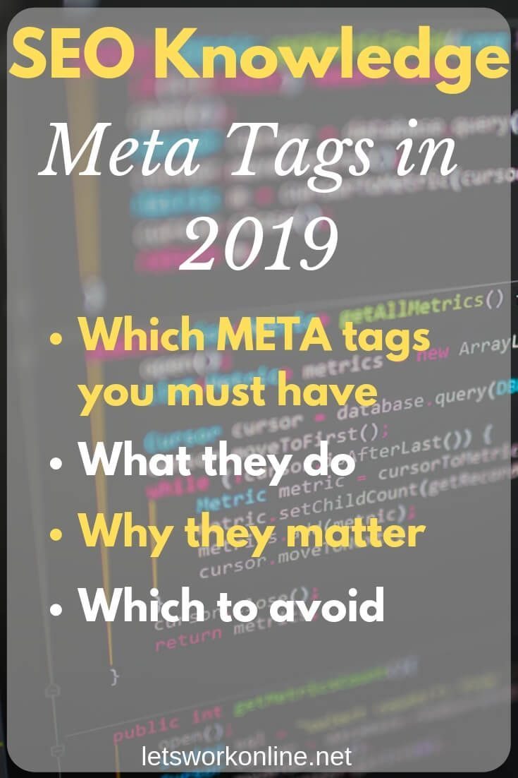 Meta tags can help with SEO  But what are meta tags? Which tags