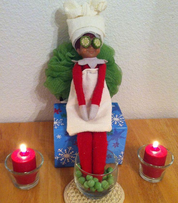 Top 25 Elf on the Shelf Ideas on Pinterest