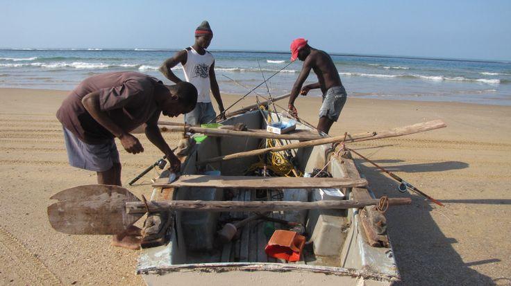 Going fishing Canda Mozambique