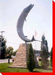 Giant Muskie - Gananoque, Ontario #ANCORoadTripContest