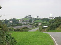 Penmynydd, meaning top of the mountain in Welsh, is a village and community on Anglesey, Wales. It is known for being the birthplace of the Tudors of Penmynydd, which became the House of Tudor. The population according to the United Kingdom census 2011 was 465.