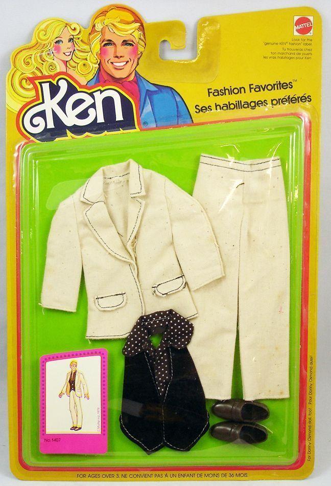 Ken Fashion Favorites 1979 1407 Vintage Barbie Dress Vintage Barbie Clothes Barbie Clothes