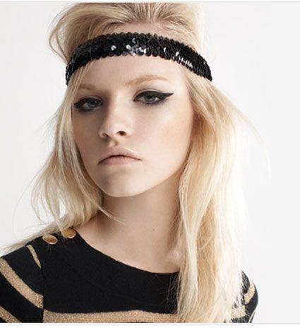 Conseils de coiffure, comment porter un bandeau cheveux longs ou courts, comment le positionner et le maintenir sur la tête en coiffure