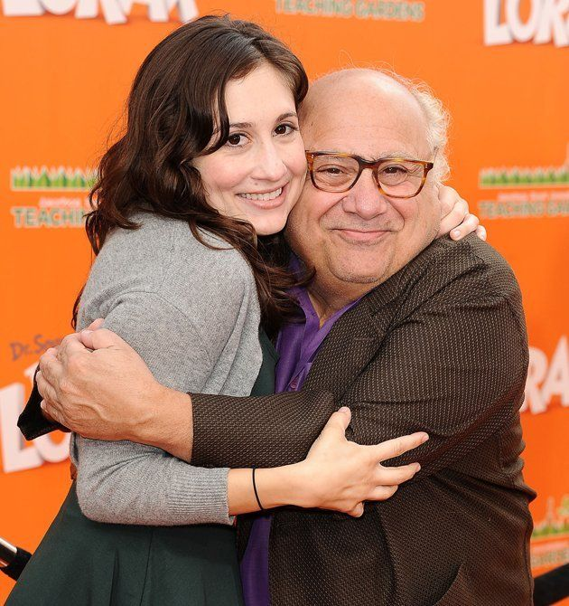 Lucy DeVito and Danny DeVito