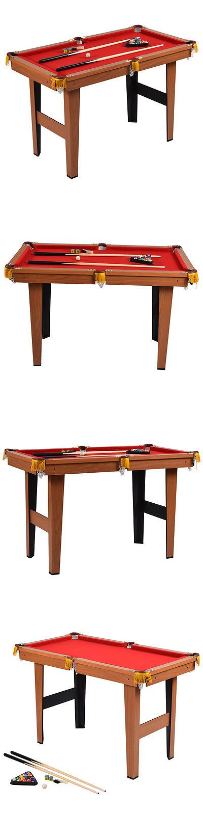 """Tables 21213: 48"""" Mini Table Top Pool Table Game Billiard Set Cues Balls Gift Indoor Sports BUY IT NOW ONLY: $85.99"""