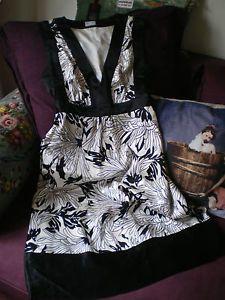 "Glamour Mariage Soiree Robe EN Soie ""Oasis"" Marque Anglaise | eBay 15€"