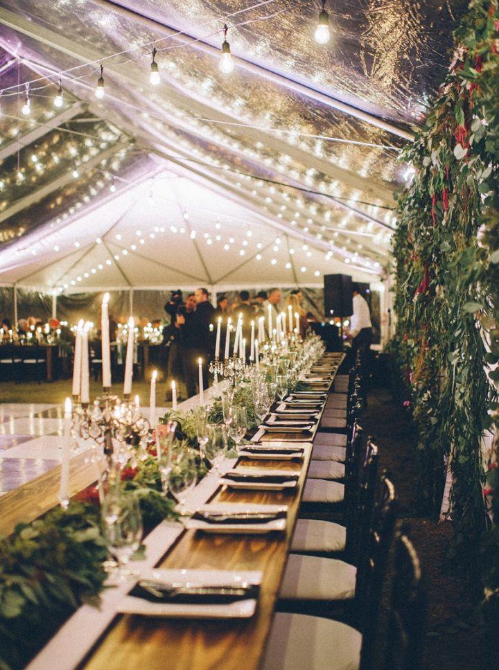 Romantic wedding reception | fabmood.com #wedding #weddingreception