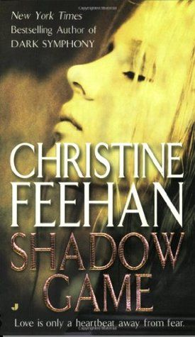 Book review of Shadow Game by Christine Feehan, #1 Ghostwalkers series, paranormal romantic suspense