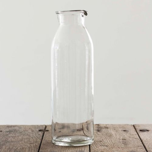 Glass Water Jug - Recycled Glass Water Jug | The Other Duckling