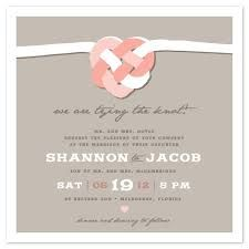 wedding invitations tying the celtic knot by casey fritz - Celtic Wedding Invitations