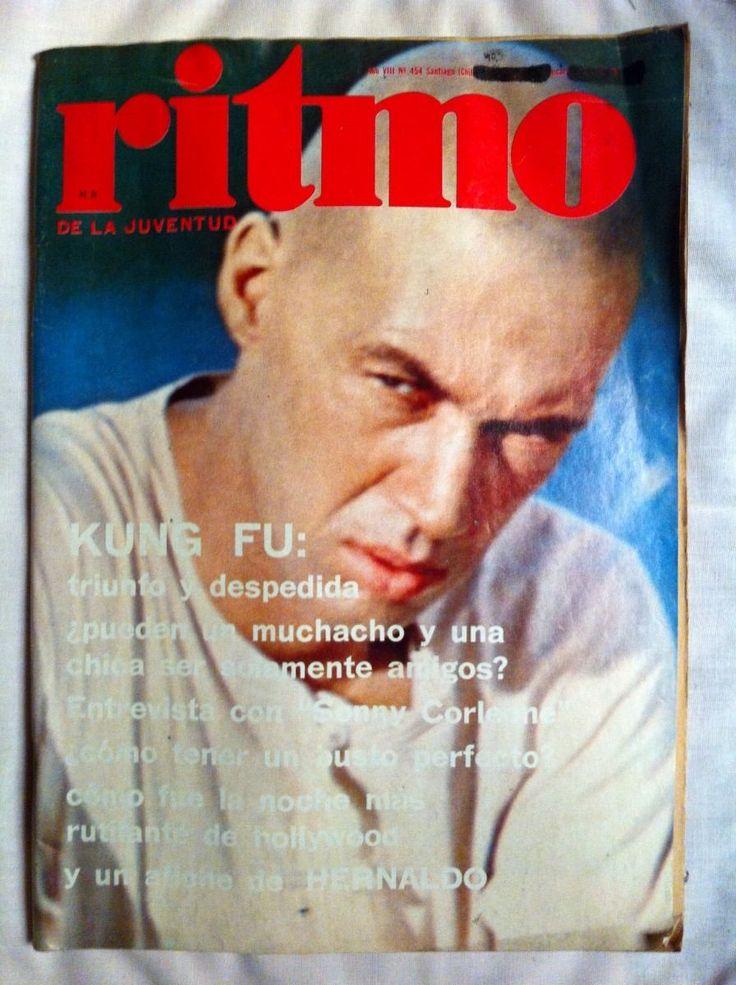 revista ritmo kung fu nº 454,mayo 1974- poster hernaldo