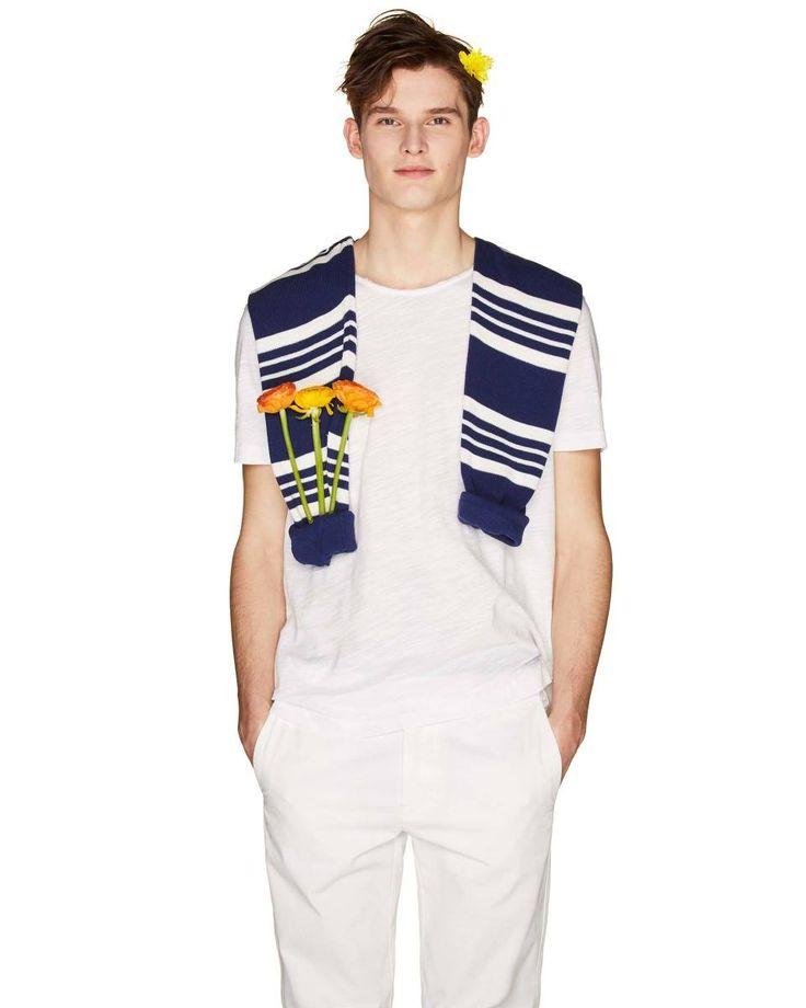 Crew neck #tshirt from #Benetton #SS18 #man collection