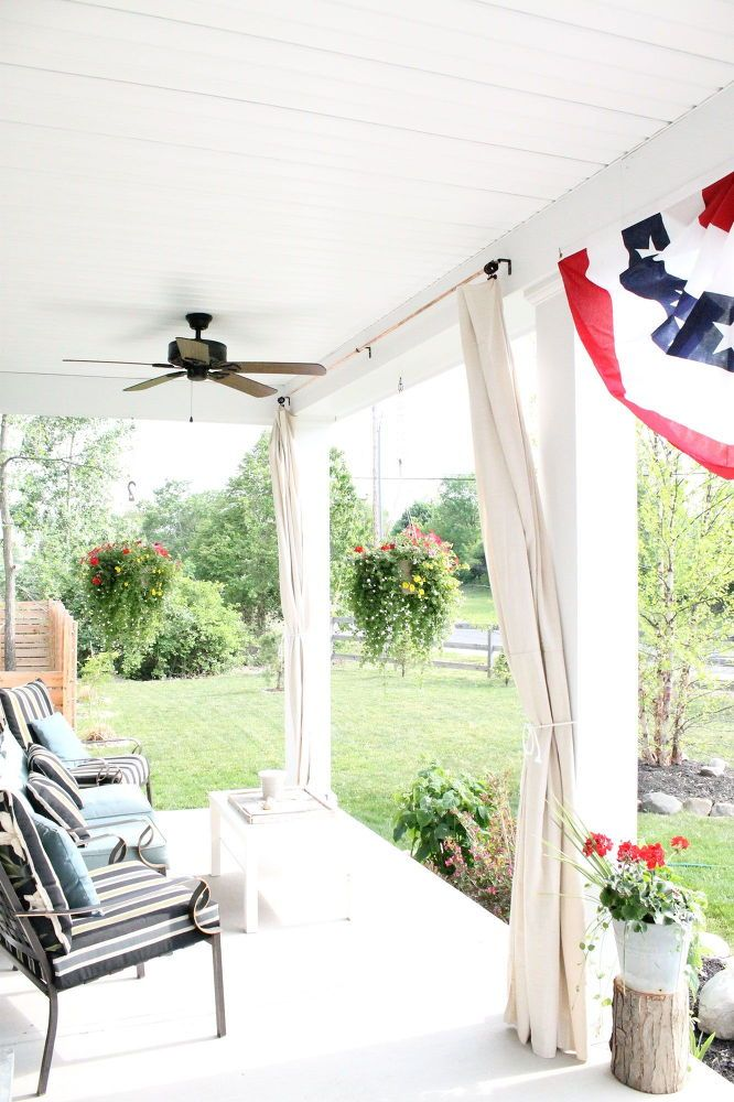 Best 20+ Drop Cloth Curtains Outdoor Ideas On Pinterest | Outdoor Curtains,  Screened Porch Curtains And Deck Curtains
