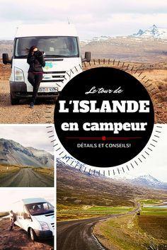 Le tour de l'Islande en campeur, détails et conseils pour avoir un meilleur road trip #islande #roadtrip