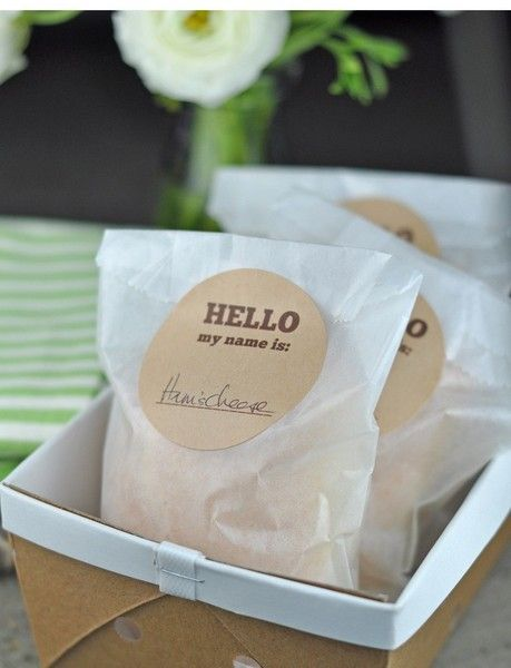 bake sale packaging ideas   ... Favor Bags, Candy Bags, Bake Sale Bags   Marketplace   100 Layer Cake