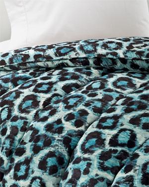 Diane von Furstenberg cheetah duvet