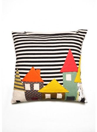 """Pillow """"Houses"""" 