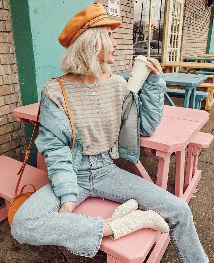 #moda #modern #fashion #momjean #jean #tarz