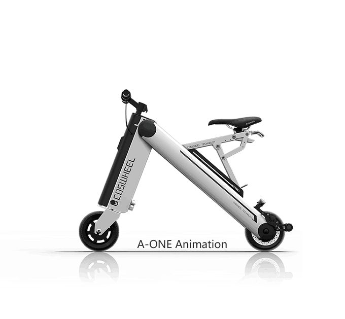 Coswheel launched a new crowdfunding campaign on Kickstarter this week, this is for a new smart folding electric bike that they have named the A-One. The f
