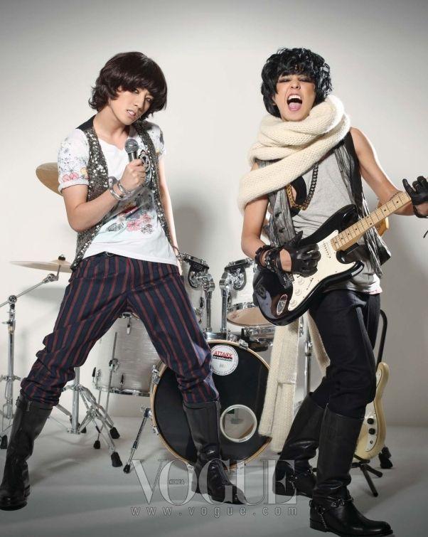 Seungri and GD | BigBang VOGUE January 2009: