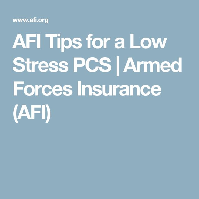 AFI Tips for a Low Stress PCS | Armed Forces Insurance (AFI)