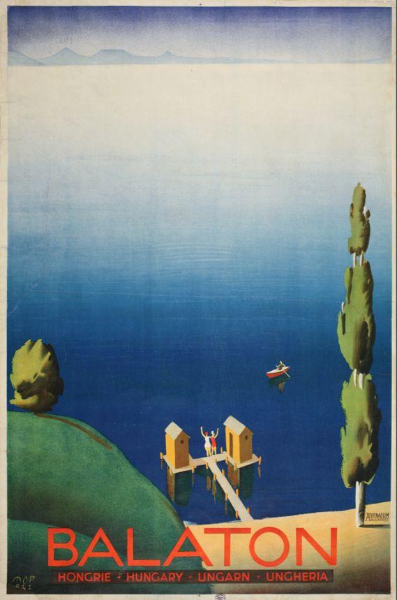 Retro Balaton poster