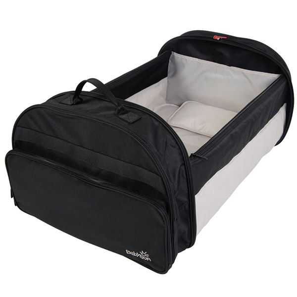 I➨ Vite ! Achetez votre Couffin nomade noir de Babysun à seulement 72€ ! ✓ Livraison gratuite et rapide. Allobébé, n°1 de la puériculture en ligne.