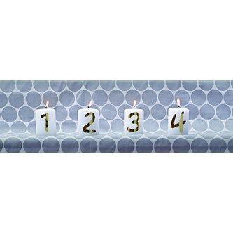 Blockljus 1-2-3-4 - Lekolar Sverige