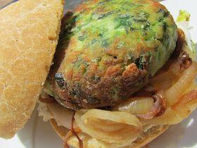 Hamburguesas de pollo y espinacas Ana Sevilla con Thermomix