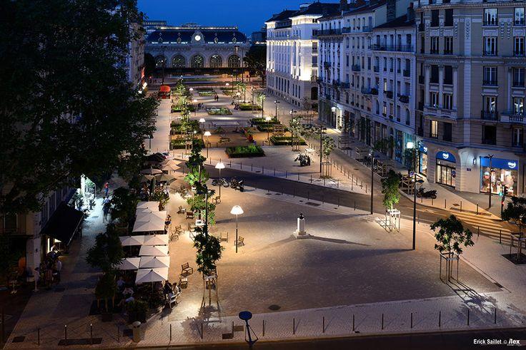 Place Général Brosset by Ilex Landscape Architecture