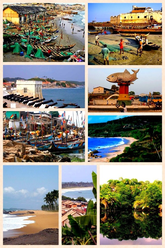 I've been to some of these places! Ghana