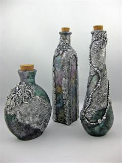 Kismet Clay Designs: Potion Bottles