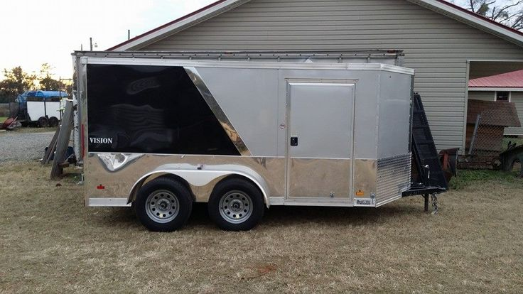17 Best Images About Enclosed Motorcycle Trailer On