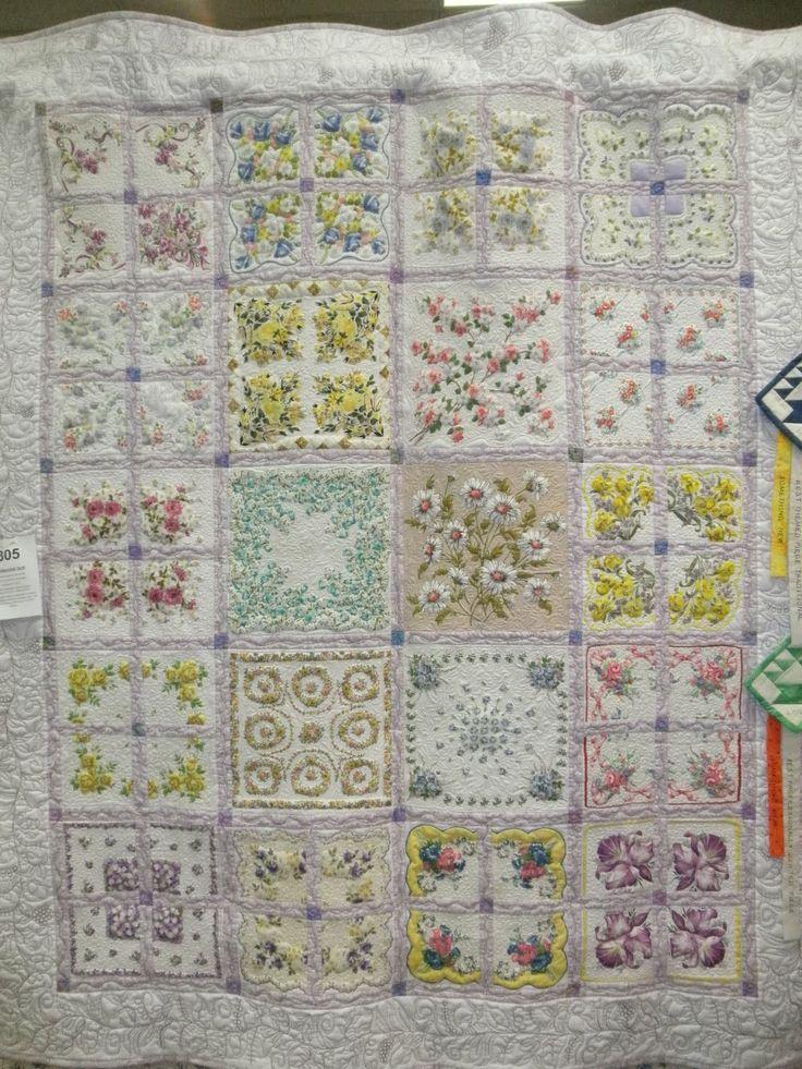 Vintage Handkerchief Quilt Patterns | Cheryl's Teapots2Quilting: Ottawa Quilt Show & goodies!