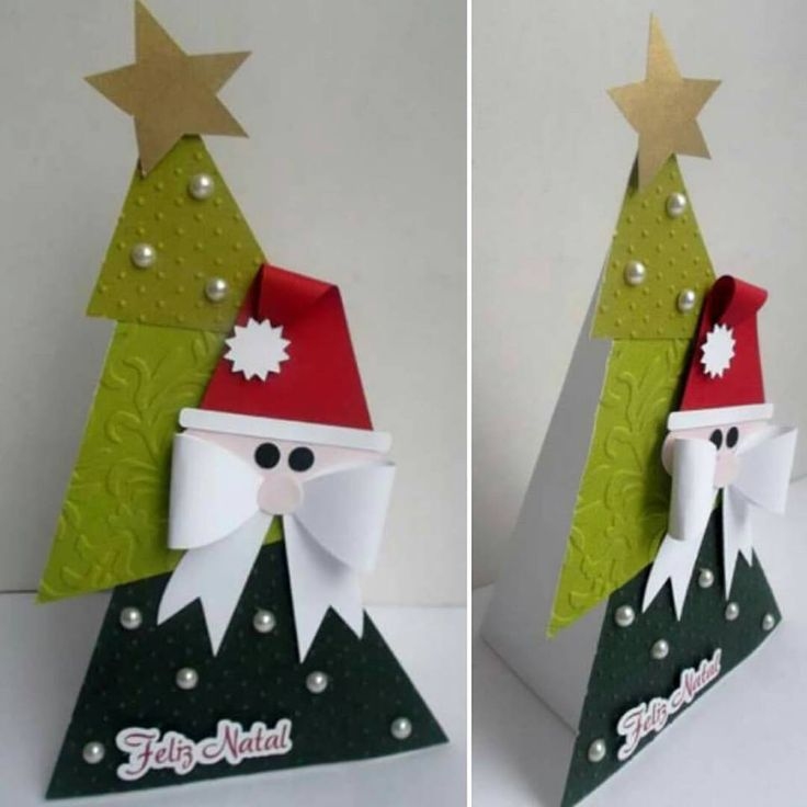free studio cut file santa pyramid