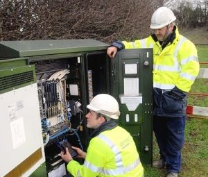 How Does BT Openreach UK Handle Full FTTC Fibre Broadband Cabinets?