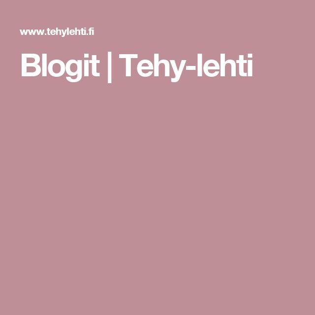 Blogit | Tehy-lehti