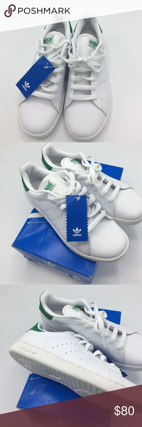 Adidas Stan Smith Adidas Stan Smith sneakers color classic green and white. Super cute and girly. New with tags size 6. 🚫🚫No low ball offers and no trades 🚫🚫 Adidas Shoes Sneakers