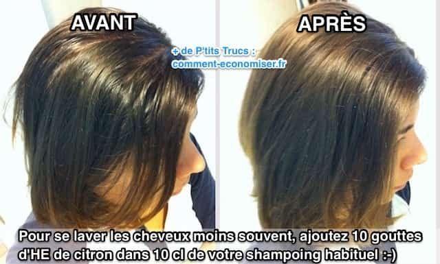 L'Astuce TOUTE SIMPLE Pour Se Laver les Cheveux MOINS Souvent.