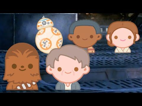 Youtube: Star Wars the Force Awakens in Emoji form. A must watch!
