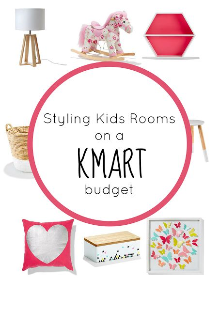 Styling Kids Rooms on a Kmart Budget