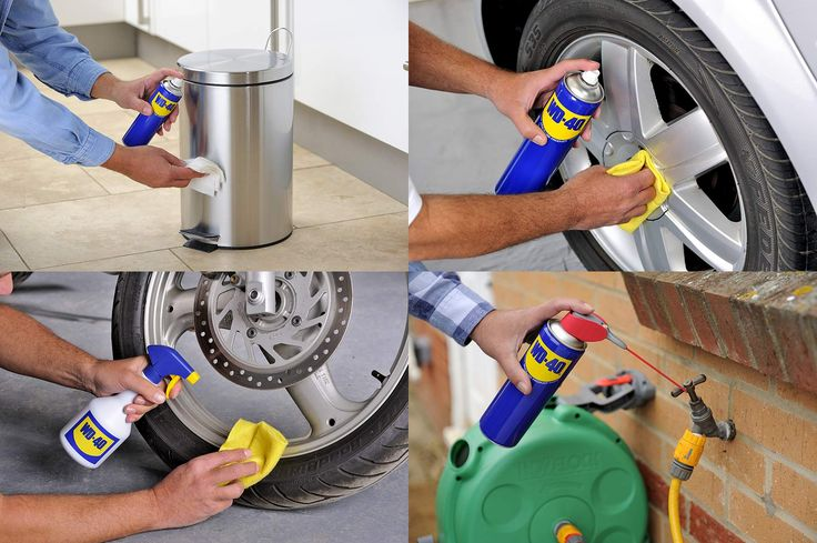 WD40 is great for #squeaky doors too!
