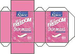 Freedom thin maxi
