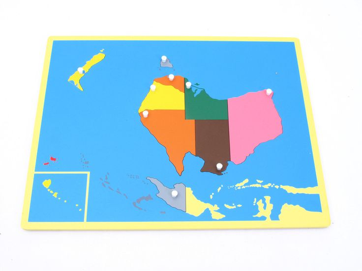 Board Map of Australia