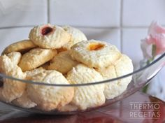 Galletas de arroz (galletas sin gluten) - http://www.thermorecetas.com/2014/09/09/galletas-de-arroz-galletas-sin-gluten/