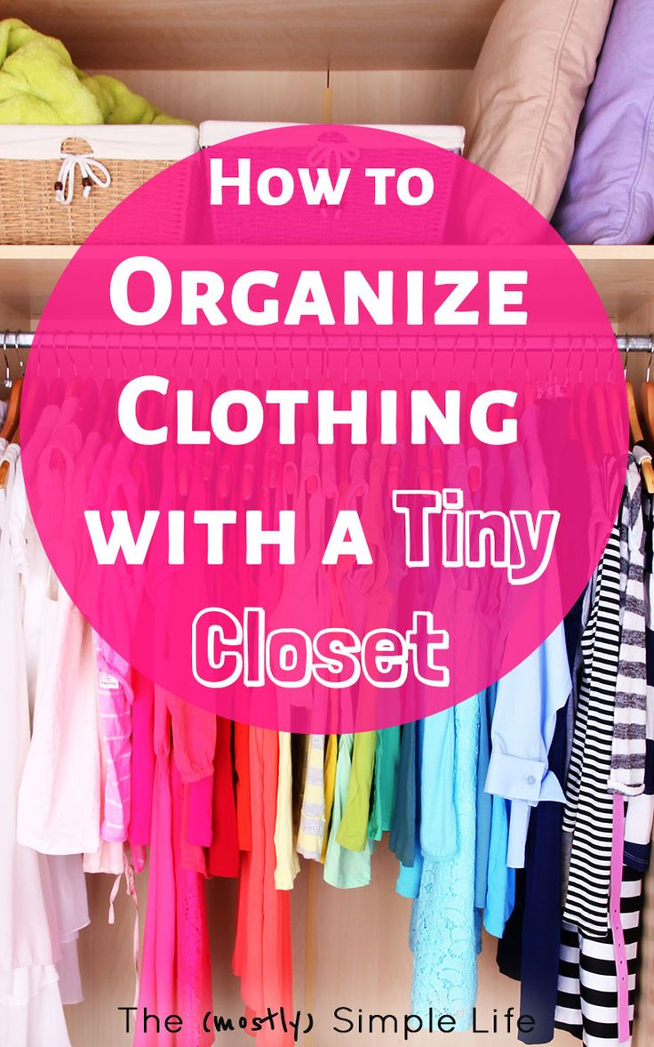 Bedroom Organization Closet Organizing Ideas
