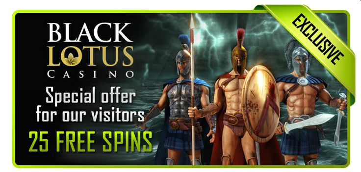 25 Free Spins at Black Lotus Casino