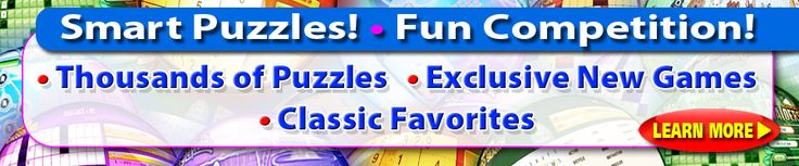 Free Online Word Games & Puzzles | Crosswords, Word Search, Sudoku and more! | PuzzleNation