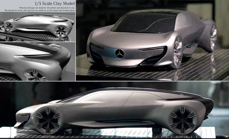 Mercedes Benz - Autonomous Luxury Sedan on Behance MODELS